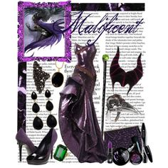 """Malificent"" by kimberlee-peers-moore on Polyvore"