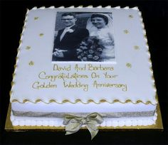 Parenting Classes Free Near Me Code: 1473249557 Golden Anniversary Cake, 50th Wedding Anniversary Decorations, 50th Wedding Anniversary Cakes, Anniversary Parties, Anniversary Ideas, Aniversary Cakes, Wedding Cakes, Table Wedding, Cupcakes