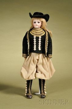 Early Francois Gaultier Fashion Doll | Sale Number 2476, Lot Number 366 | Skinner Auctioneers