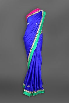 Featuring this beautiful Purple Satin Sari in our wide range of Stoles. Grab yourself one Now!