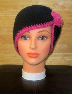 Women's Crochet Hat by VanitysCandy on Etsy, $15.00