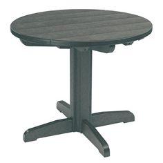"Bay Isle Home Trinidad Dining Table Table Size: 33"" L x 33"" W x 33"" H, Finish: Fuchsia"