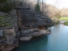 Dogwood Canyon Nature Park. Placed on the border of Missouri and Arkansas. Rent a Bike and enjoy the beautiful scenery.
