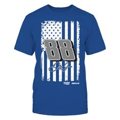 Show Your Pride - Dale Earnhardt Jr. T-Shirt, Dale Earnhardt Jr. Official Apparel - this licensed gear is the perfect clothing for fans. Makes a fun gift!  The Dale Earnhardt Jr. Collection, OFFICIAL MERCHANDISE  Available Products:          Gildan Unisex T-Shirt - $24.95 Gildan Women's T-Shirt - $26.95 Next Level Women's Premium Racerback Tank - $29.95 Gildan Unisex Pullover Hoodie - $44.95 District Women's Premium T-Shirt - $29.95 District Men's Premium T-Shirt - $27.95 Gildan Fleece Crew…