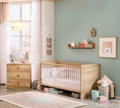 Patut din pal, pentru bebe Mocha Baby Nature, 140 x 70 cm Baby Room, Cribs, Toddler Bed, Modern, Furniture, Home Decor, Cots, Child Bed, Trendy Tree