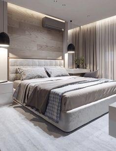 Home Room Design, Bedroom Inspirations, Modern Bedroom, Living Room Designs, Bedroom, Bedroom Makeover, Luxurious Bedrooms, Luxury Bedroom Master, Bedroom Furniture Design