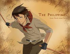 Hetalia Philippines, Character Inspiration, Character Art, Filipino Art, Sci Fi Characters, Fictional Characters, Anime Was A Mistake, Character Wallpaper, Haikyuu Anime