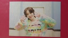SECRET HAN SUN HWA Official Photocard 3th Single GIFT FROM SECRET Sunhwa