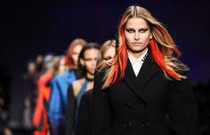 Olhares: Versace outono-inverno 2017/18
