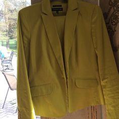 Jones New York pantsuit. Stunning green Cotton summer green pantsuit. Very stunning color Jones New York Jackets & Coats