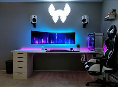 Pc bureau gamer cool puter setups and gaming setups