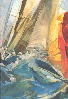 willard bond art | Mystic Seaport Art | Sea Art | Marine Art | Sailboat Art