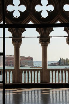 View of Grand Canal from Doges Palace  Venice Italy  photo by jadoretotravel