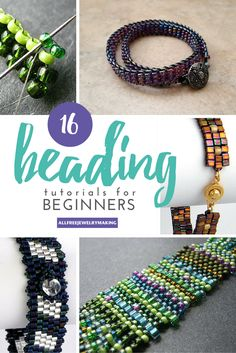 Beginner Beading Tutorials: How to Peyote Stitch, Brick Stitch, Square Stitch and More | AllFreeJewelryMaking.com