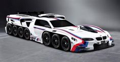 BMW Designs a 42-Wheel, 19-Engined Concept Car