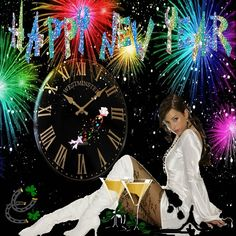Happy New Year Images, Happy New Year 2020, Dark Fantasy, New Years Eve, Red Roses, Funny Pictures, Gb Bilder, Smileys, Advent