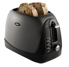 Oster Toaster has wider openings to house a selection of breads. If you are looking for a brushed metal toaster then you can check Oster 4 Best 2 Slice Toaster, Stainless Steel Coffee Maker, Bread Toaster, Toaster Ovens, Thing 1, Specialty Appliances, Small Kitchen Appliances, Jelly Beans, Bagel