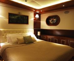The private Mediterranean yacht charter Carpe Diem is an outstanding vessel designed for your comfort and pleasure. Carpe Diem, The Good Place, Luxury, Bed, Places, Room, Yachts, House, Furniture