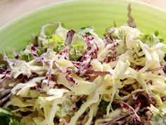 Cilantro Slaw from FoodNetwork.com...goes great with BBQ or great on Fish Tacos...enjoy