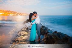 Like the city lights contrasted with the ocean. Beach Engagement, Engagement Shoots, Cute Couples Goals, Couple Goals, Fashion Photography, Wedding Photography, Photography Ideas, Laguna Beach, City Lights