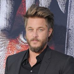"Travis Fimmel arrives at the Los Angeles Premiere of ""Warcraft,"" 2016. Photo by…"