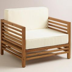 One of my favorite discoveries at WorldMarket.com: Praiano Occasional Cushions and Slipcovers Set