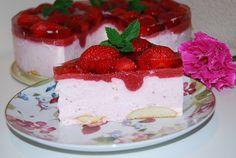 O kuchni z uczuciem : Truskawkowy raj ciasto bez pieczenia