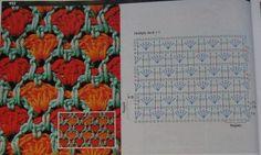 Crochet Stitch Heart - Chart