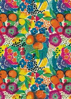 Oranges & Lemons by Moniquilla via Society6