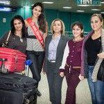 Wahiba Arres, Miss Tunisie 2014, de retour en Tunisie du concours Miss Monde où elle areprésenté notre pays dansun des plusprestigieux concours au monde. L'avion deWahiba Arres a atterri à 20h30 àl'aéroport Tunis Carthage, ce Mardi le 16 Décembre. Notre charmante Miss Tunisie a déclaré dés son arrivé à Tunis: Je suis fière d'avoir représenté [...]