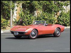1968 Chevrolet Corvette Convertible 427/400 HP, 4-Speed #Mecum #Indy