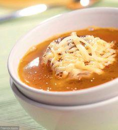 Francuska zupa cebulowa Gout Recipes, Cooking Recipes, Healthy Recipes, Polish Recipes, Polish Food, Lentil Soup, I Foods, Good Food, Food Porn