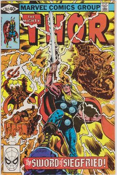 Thor Marvel Comics #297 Vol1 FN 6.0
