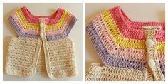 Alita, Crochet Consentido: Chalecos para bebes