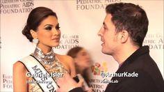 Miss Universe 2013, Maria Gabriela Isler en un evento de Aids Foundation...
