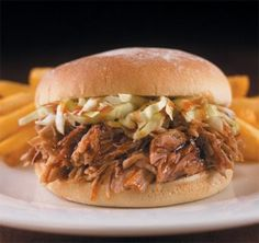 This tangy vinegar sauce is the key to a southern style pulled pork. Serve on hamburger buns with Cole slaw.