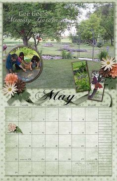 2016 Calendar template packs from Grace Blossoms 4U available for $1 for a limited time http://www.scraps-n-pieces.com/store/index.php?main_page=index&manufacturers_id=56  Kit used Is Making Memories by Ann's Scrap Heaven.  http://www.scraps-n-pieces.com/store/index.php?main_page=product_info&cPath=66_282&products_id=10591