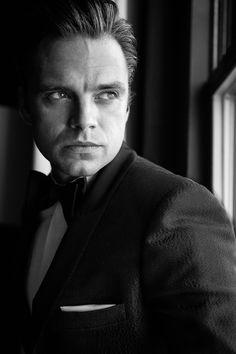 Sebastian Stan photography by Justin Bridges