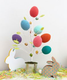 Springtime Easter Eggs