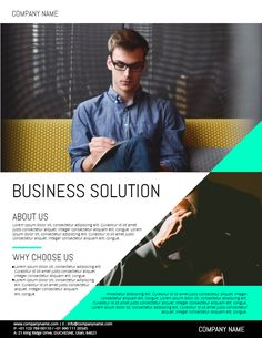 corporate business conference flyer design template corporate