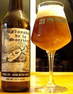 Noyade De La Sorcière – Microbrasserie Goudale | Craft Beer Québec #IPA #TripleIPA #IndiaPaleAle #Ale #Beer #Bière #Microbrasserie #Québec #Drinklocal