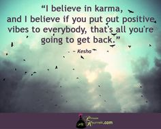 Karma is real thing