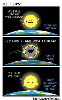 The Eclipse. The Awkward Yeti