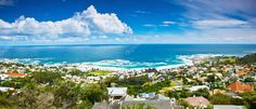 Панорамное изображение города Кейптаун — стоковое изображение #9789969