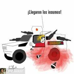 @Regrann from @anablack22 - #Tanquetas #medicinasvenezuela #InsumosVenezuela #NicolasMaduro #VenezuelaSOS #Caricaturas - #regrann