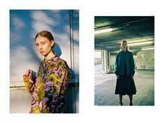 Left: Shirt, Kelly Dawn Riot. Right: Jacket, shirt and skirt, all Stephanie Davidson. Styling: Alexandra Fiddes Photographs: Igor Termenon