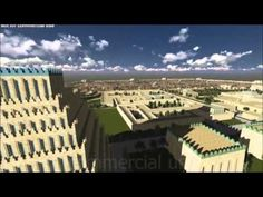 3D Digital Art Ancient Nineveh - Ashurbanipal, Assyria