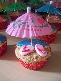 Hawaiian Cup Cakes
