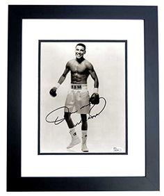 Oscar De La Hoya Signed - Autographed Boxing 8x10 Photo BLACK CUSTOM FRAME - JSA Certificate of Authenticity