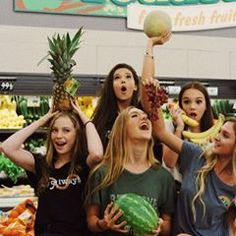 I have no caption for this photo. Idk Why I'm holding a cantaloupe, all I know is I was skating through the supermarket in socks with ruby